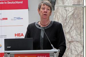"""<div class=""""bildtitel"""">Umweltministerin Barbara Hendricks bei der Vergabe des Deutschen Kältepreises </div>"""