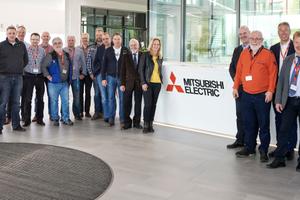 """<div class=""""bildtitel"""">Die Mitglieder der Kälte- und Klimatechnik-Innung Nordrhein waren für ihre Jahresversammlung zu Besuch bei Mitsubishi Electric in Ratingen. </div>"""