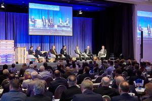 """<div class=""""bildtitel"""">Wie schon auf der Leading Air Convention 2017 (Foto) wird Daikin im Rahmen einer Podiumsdiskussion auch 2018 wieder wichtige Branchenthemen anpacken. </div>"""
