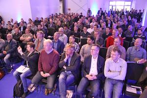 Teilnehmer des 4. MTF Samsung Smart Climate Solution Events in Schüttorf