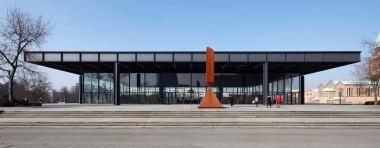 Die Neue Nationalgaleriein Berlin