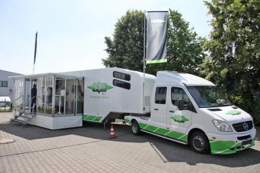 Der Bitzer IQ-Truck vor der Frigotechnik-Niederlassung in Bissendorf