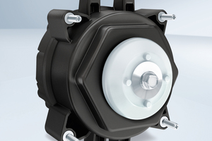 """<div class=""""bildtitel"""">Bild 5: Der stromsparende NiQ-Motor ist mechanisch kompatibel zu Spaltpolmotoren und ermöglicht einen einfachen 1:1-Austausch. </div>"""