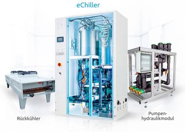 eChiller auf Wasserbasis