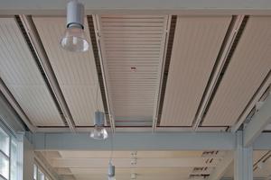 """Die """"HKE-CS"""" fügt sich gut in die geometrische Konstruktion des Gebäudes ein."""