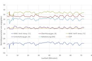 "<div class=""bildtitel"">Grafik 2: Berechnete Betriebsparameter für ""Opteon XL40""</div>"