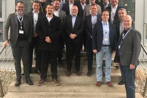 """<div class=""""bildtitel"""">Vertreter zahlreicher Mitgliedsunternehmen bei der Versammlung des Fachbereichs """"Industrie & Handel"""" im ZVKKW am 12.12.2018 bei AIT in Kasendorf</div>"""