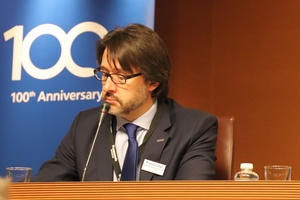 "<div class=""bildtext"">Enrique Vilamitjana, Managing Director Panasonic Appliances Air Conditioning Europe, beantwortete nach der Pressekonferenz die Fragen der KKA-Redaktion.</div>"