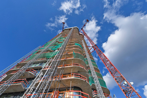 """<div class=""""bildtitel"""">In den 401 luxuriösen Eigentumswohnungen des Bauwerks sorgen hochwertige Wohnungsstationen von KaMo für eine bedarfsgerechte Wärme- und Kälteverteilung.</div>"""