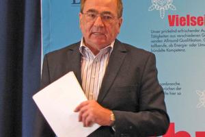 """<div class=""""bildtitel"""">Dirk G. Müller, DM Consulting, informierte zum Thema """"Unternehmensnachfolge"""".</div>"""