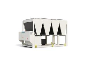Als erster Hersteller bietet Daikin einen Kaltwassersatz mit dem Kältemittel R-32 an. So lassen sich auch große gewerbliche Anwendungen klimaschonend betreiben.<br />