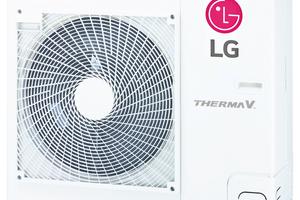 "<div class=""bildtitel"">Außeneinheit der ""LG Therma V R32 Split""-Wärmepumpe</div>"