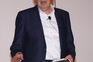 "<div class=""bildtitel"">Peter Verkempynck, Vice President LG Air Solution Europe, begrüßte die Teilnehmer.</div>"