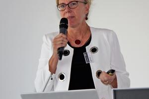 """<div class=""""bildtitel"""">EPEE-Geschäftsführerin Andrea Voigt beleuchtete die Erfolge bzw. Misserfolge auf dem Weg zur Erreichung der europäischen Klimaschutzziele.</div>"""