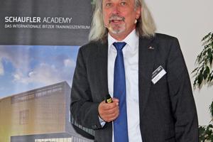 "<div class=""bildtitel"">Harald Conrad, Westfalen AG, informierte über die aktuelle Kältemittelsituation.</div>"