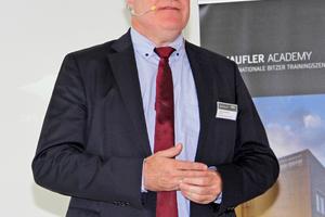"""<div class=""""bildtitel"""">Dr. Heinz Jürgensen, Bitzer: """"Die Entwicklung neuer Verdichter ist eine komplexe Aufgabe.""""</div>"""