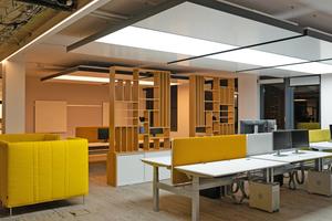 """<div class=""""bildtitel"""">Büroumgebung mit optimaler raumklimatischer Qualität bei der Sebastian Bluhm GmbH</div>"""