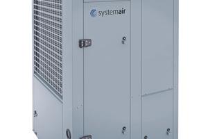 """<div class=""""bildtitel"""">Für Kühlleistungen unter 350 kW hat Systemair die luftgekühlten Kaltwassersätze mit Scrollverdichter optimiert: Die Baureihe """"SYSAQUA"""" erfüllt bereits die ErP-Vorgaben für 2021 und kann je nach Anwendung mit unterschiedlichen Kältemitteln, die sich durch einen niedrigen GWP auszeichnen, betrieben werden. </div>"""