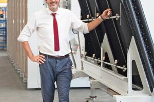 """<div class=""""bildtitel"""">CEO Giuseppe Visentini: """"Unsere Strategie ist ganz klar auf die Produktion von Top-Qualität ausgerichtet.""""</div>"""