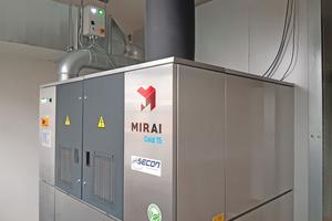"""<div class=""""bildtitel"""">Die Kältemaschine """"MC15-OC-AC"""" der Firma Mirai Intex arbeitet mit Luft als Kältemittel.</div>"""