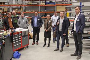 """<div class=""""bildtitel"""">Bei dem Cold News-Event in Dresden erhielten die Teilnehmer auch Einblicke in die Fertigung von compact Kältetechnik.</div>"""