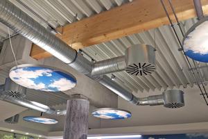 """<div class=""""bildtitel"""">Zur Qualität in der Ausführung von RLT-Anlagen gehört maßgeblich die Luftdichtheit des Kanalsystems, auch für eine hygienisch einwandfreie Indoor Air Quality beispielsweise wie hier in Aufenthaltsräumen.</div>"""