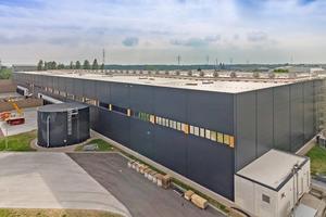 """<div class=""""bildtitel"""">Das Projekt wurde für den Industrie-Immobilienkonzern SEGRO im hessischen Bischofsheim ausgeführt.</div>"""