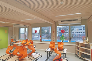 """<div class=""""bildtitel"""">Durch die dezentrale Einbauweise wird jeder Klassenraum ganz individuell mit frischer Luft versorgt. </div>"""