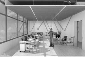 """<div class=""""bildtitel"""">Flächenheiz- und -kühlsysteme bieten Gestaltungsfreiheit bei der Inneneinrichtung und thermische Behaglichkeit.</div>"""