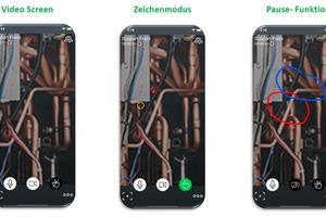 """<div class=""""bildtitel"""">Bei der interaktiven Lösung """"Daikin Virtual Genba Walk"""" wird der technische Support des Herstellers auch visuell mit dem Anlagenbauer vernetzt.</div>"""