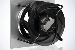 """<div class=""""bildtitel"""">Der Radialventilator """"RadiCal"""" von ebm-papst liefert die benötigte Luftleistung für großflächige Filterung von urbanen Luftschadstoffen.</div>"""