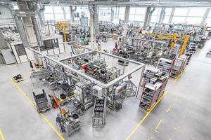 """<div class=""""bildtitel"""">Mit der Factory realisiert Wilo die Produktion der Zukunft.</div>"""