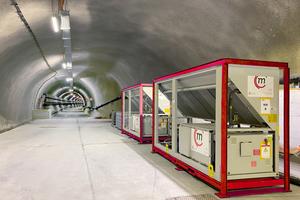 Die Kälteanlagen im Gotthard Basistunnel können mit Hilfe des Digital Control Systems auch aus der Ferne überwacht werden.<br />