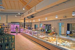 """<div class=""""bildtitel"""">Im Hofladen werden Produkte aus eigener Herstellung verkauft. </div>"""