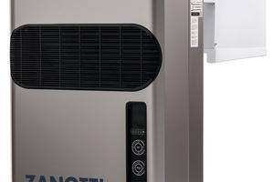 """<div class=""""bildtitel"""">Mit dem """"GM Monoblock"""" bietet Zanotti eine Monoblock-Kälteanlage mit hermetisch geschlossenem Kältemittelkreislauf für Kühlräume an, die mit dem Kältemittel Propan arbeitet. </div>"""