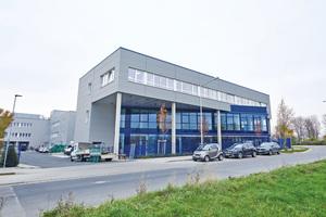 """<div class=""""bildtitel"""">Vom Standort Pulheim bei Köln versorgt ProServ mit dem KNAPP-Versorgungscampus Krankenhäuser und Pflegeheime mit Speisen, Medikamenten und Stationsbedarf. </div>"""