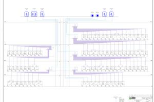 """<div class=""""bildtitel"""">Die HBC-Controller sind in den einzelnen Etagen in den Zwischendecken bzw. in einem Technikraum bei offener Sichtmontage untergebracht. </div>"""