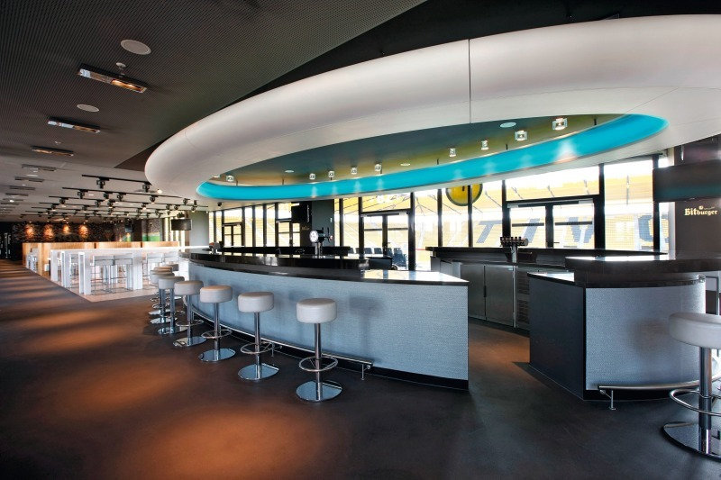 Tivoli Aachen Vip Lounge Eingang