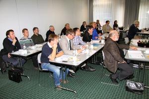 ÜWG-Mitgliederversammlung am 19. Oktober 2011 in Bonn<br />