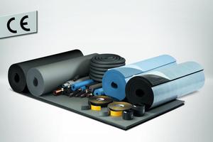 """<div class=""""bildtext"""">Mit seinen """"Armaflex""""-Produkten erreichte Armacell als erster Hersteller die CE-Zertifizierung flexibler technischer Dämmstoffe.</div>"""