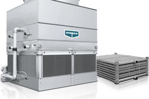 "<div class=""bildtitel"">Geschlossener Kühlturm mit verzinktem Rohrbündel (Coil), Evapco Meerbusch </div>"