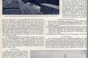 """<div class=""""bildtitel"""">Artikel über das Bremerhavener Kühlhaus in der Zeitschrift des Deutschen Kälte-Vereins von 1923, Seite 2</div>"""