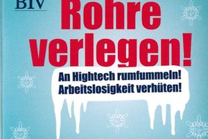 """<div class=""""bildtitel"""">Ein Kondom als Werbemittel des BIV – der Slogan passte zum Veranstaltungsort: die Rohrmeisterei in Schwerte.</div>"""