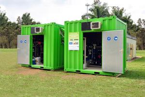 "<div class=""bildtitel"">Industrielle Wasseraufbereitung als Container-Lösung der Firma Grünbeck</div>"