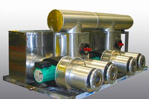 """<div class=""""bildtitel"""">Bei den Kältetechnik-Komponenten – hier eine Regelventilgruppe – geht es um Energieeffizienz.</div>"""