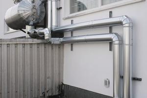 Der Behälter des Drainback-Systems. In diesem wird das Wasser aus dem Sonnenkollektorkreislauf bei Nichtbetrieb der Anlage gesammelt, um die Module vor thermischen Schäden zu schützen<br />