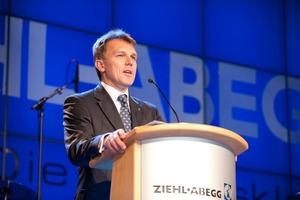Vorstandsvorsitzende von Ziehl-Abegg Peter Fenkl