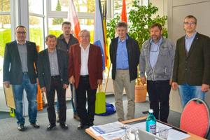 """<div class=""""bildtitel"""">Die Gründungsmitglieder der Landesinnung Thüringen erhielten eine Urkunde zur 25-jährigen Mitgliedschaft.</div>"""