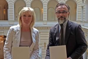 Monika Witt und Christian Herten<br />