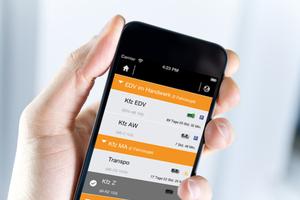 """<div class=""""bildtitel"""">Das GPS-System kann um ein elektronisches Fahrtenbuch erweitert werden. </div>"""